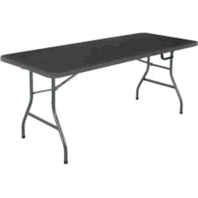 Where to find TABLE, 6  PLASTIC BLACK in Tulsa