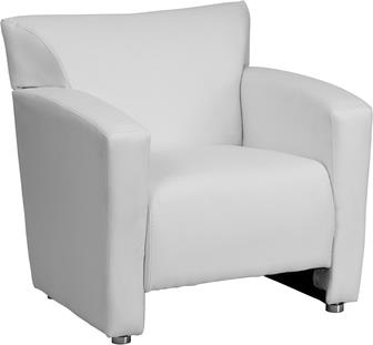 Where to find WHITE LEATHER CHAIR in Tulsa