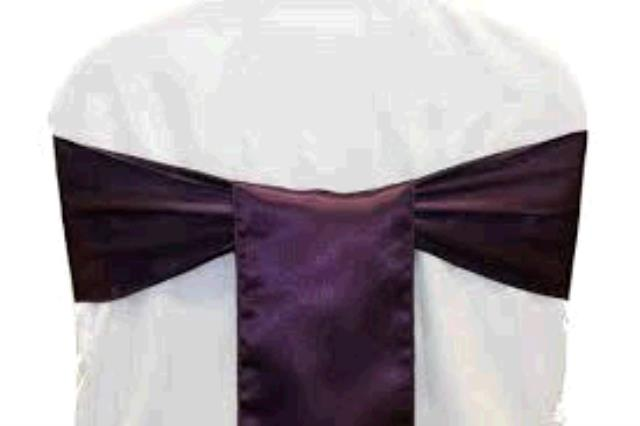 Where to find CHAIR TIE, EGGPLANT SATIN W  HEM in Tulsa