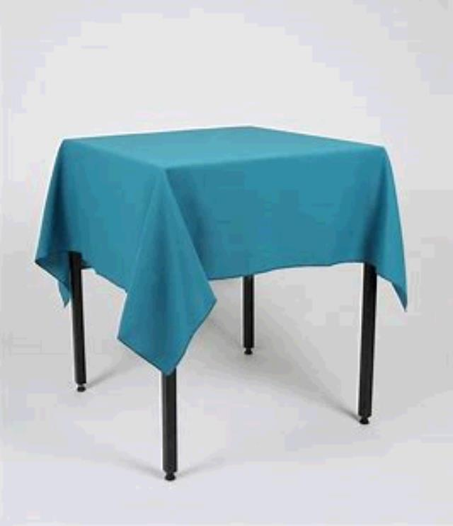 Where to find TABLECLOTH, 85 X 85 TEAL in Tulsa