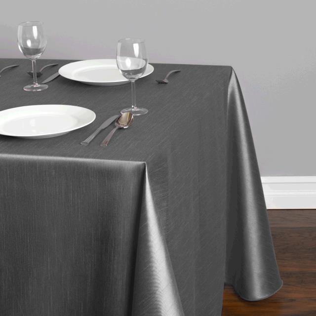 Where to find TABLECLOTH, 90 X 156 CHARCOAL MAJESTIC in Tulsa