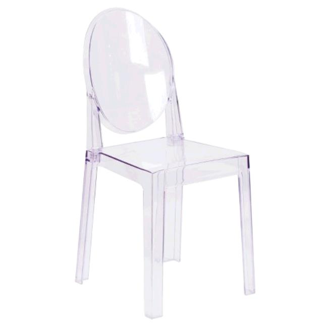 Where to find CHAIR, GHOST CRYSTAL CLEAR  CHAIR in Tulsa