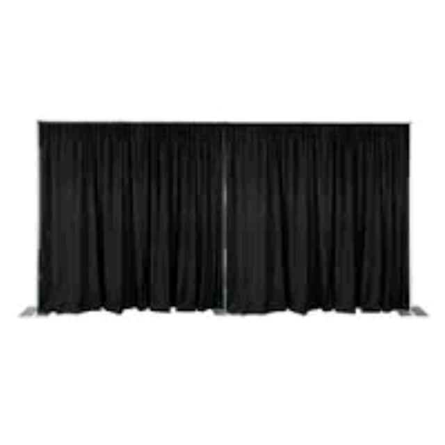 Where to find DRAPE, BLACK PREMIER 60 X 192 -5 X16 in Tulsa
