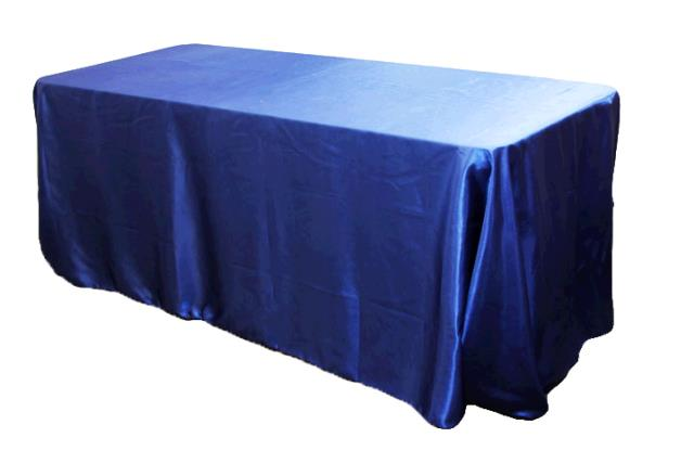 Where to find TABLECLOTH, 90 X 132 ROYAL SATIN in Tulsa