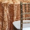 Where to rent TABLECLOTH, 120  GOLD ANTINQUE WAVE SATI in Tulsa OK