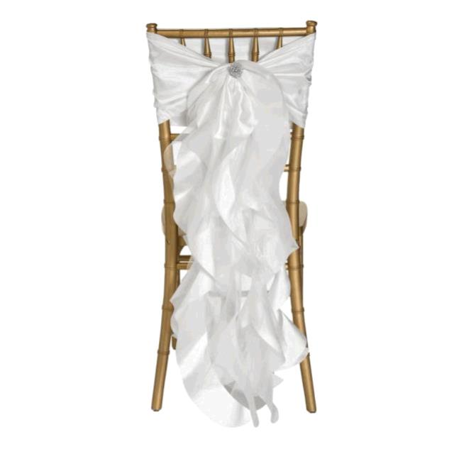Where to find CHAIR TIE, WHITE CURLY WILLOW SASH in Tulsa