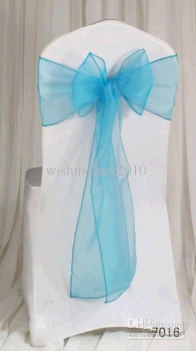 Where to find CHAIR TIE, LIGHT TURQUIOSE ORGANZA in Tulsa