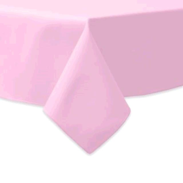 Where to find TABLECLOTH, 61 X 61 LIGHT PINK in Tulsa