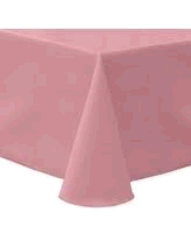 Where to find TABLECLOTH, 78 X 78 DUSTY ROSE in Tulsa