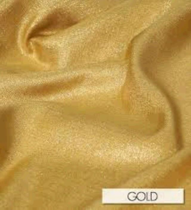 Where to find TABLECLOTH, 78 X 78 GOLD ORGANZA in Tulsa