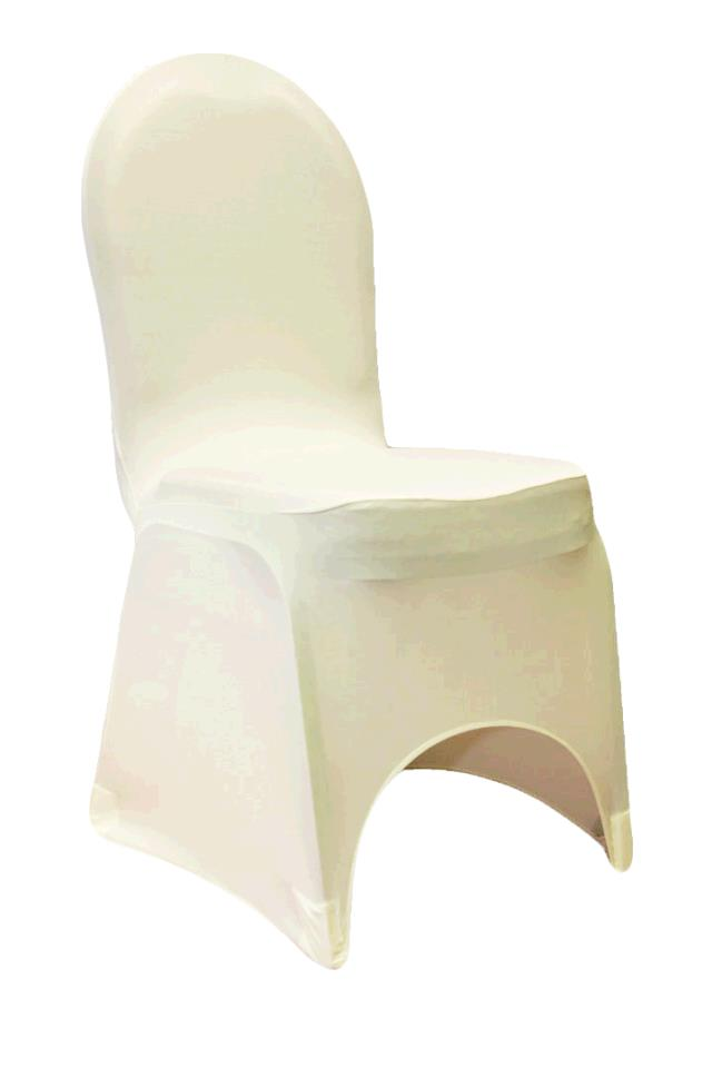 Where to find CHAIRCOVER, IVORY SPANDEX in Tulsa