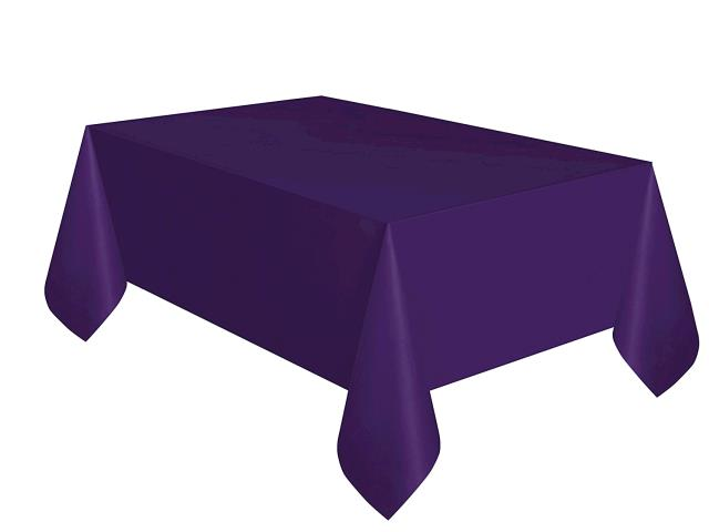 Where to find TABLECLOTH, 72 X 72 PURPLE in Tulsa