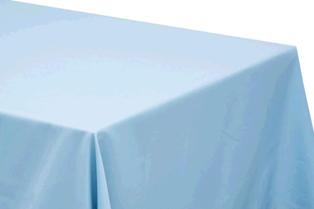 Where to find TABLECLOTH, 72  X 72 LIGHT BLUE in Tulsa