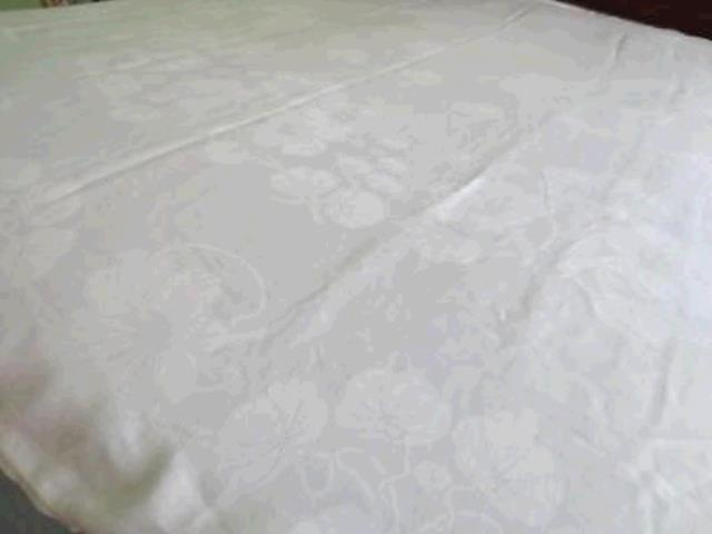 Where to find TABLECLOTH, 72 X 72 IVORY DAMASK in Tulsa