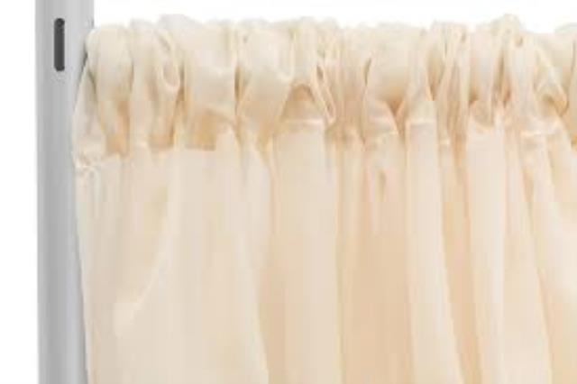 Where to find DRAPE, IVORY VOILE 118 X120 in Tulsa