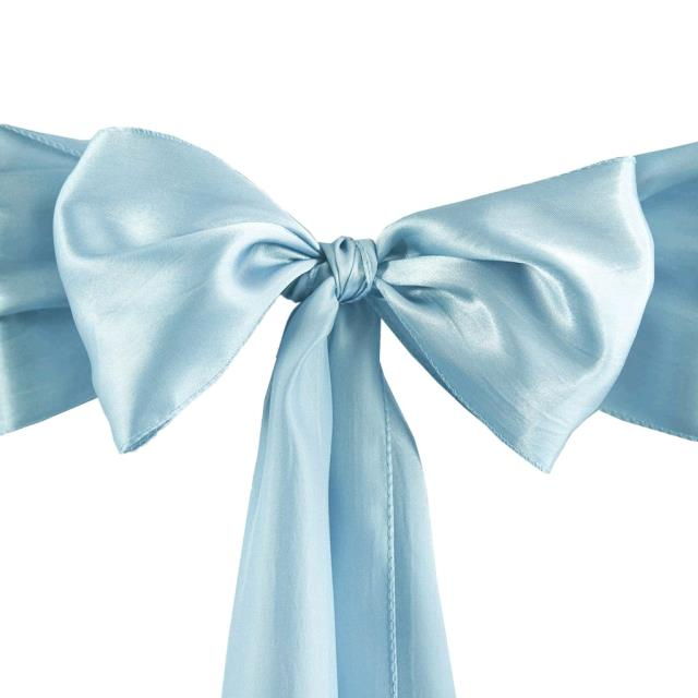 Where to find CHAIR TIE, BABY BLUE TAFFETA in Tulsa