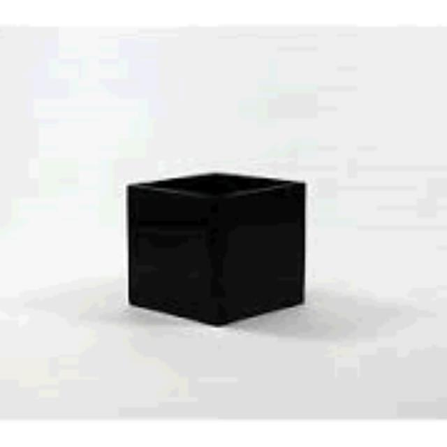 Where to find VASE, BLACK SQUARE 6 X 4  X 4 in Tulsa