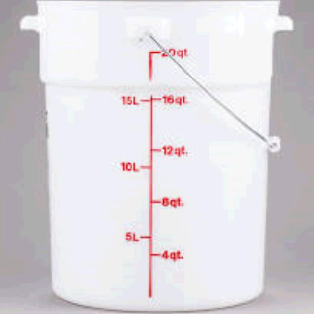 Where to find BUCKET, 5 GAL.WHITE BUCKET in Tulsa