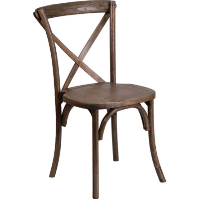 Where To Find CHAIR, ANTIQUE CROSS BACK FARM In Tulsa